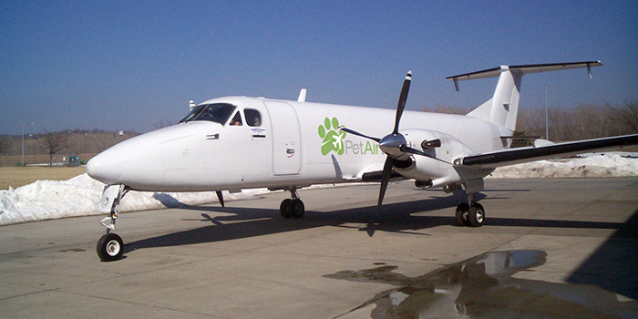 Avión de Pet Airways