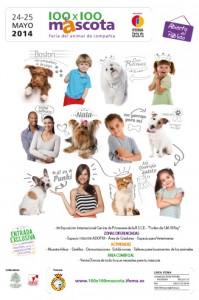 Cartel 100x100 mascota