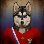 Rusia: Husky siberiano